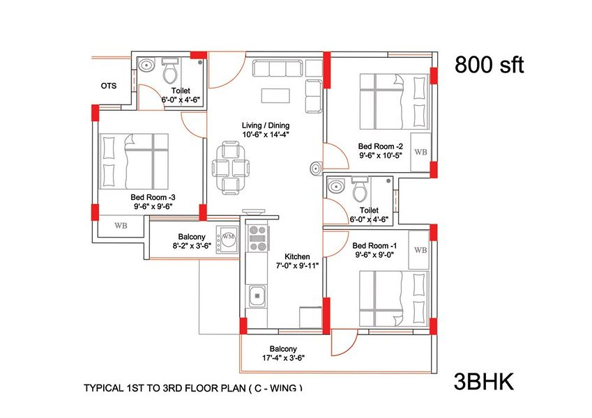 800 sq ft house plans south indian style for 800 sq ft house plan indian style