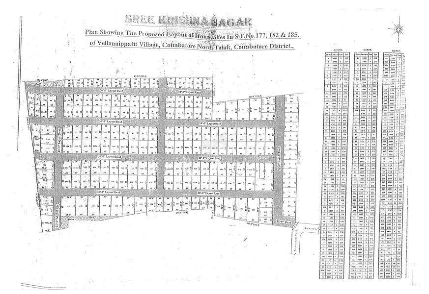 Greens Sri Krishna Nagar - Master Plans