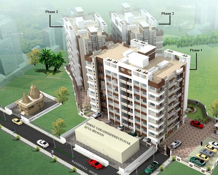 Vedant Orchid Residency Phase 1 - Project Images