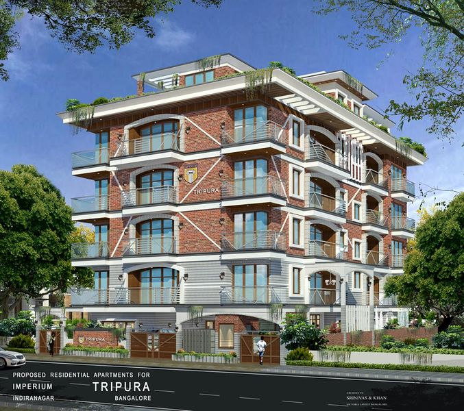 Imperium Constructions Tripura - Elevation Photo