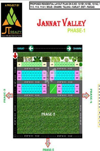 JT Jannat Valley - Master Plan