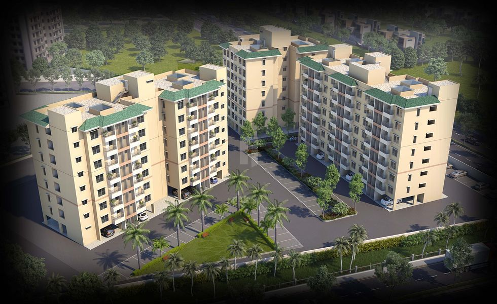 Mahindra Aqualily Flexi Homes - Elevation Photo