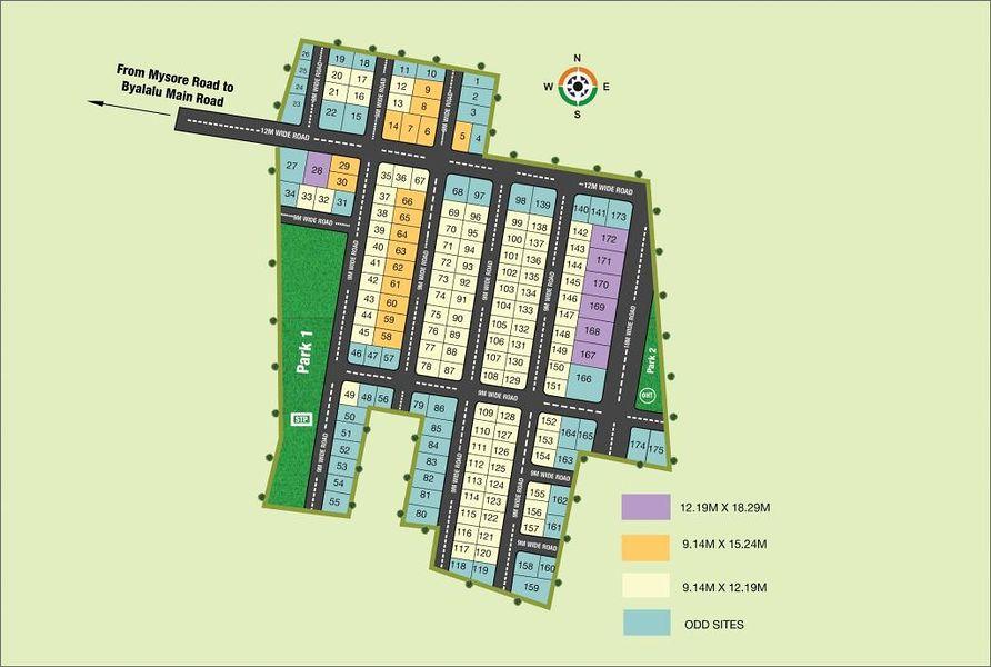 KNS Archisa - Master Plan