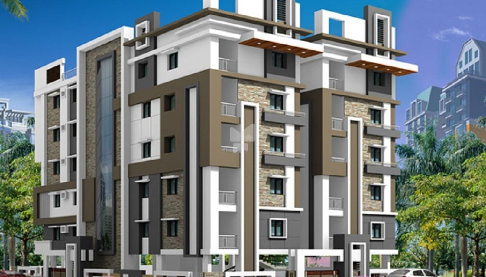 AV Madhav Residency - Elevation Photo