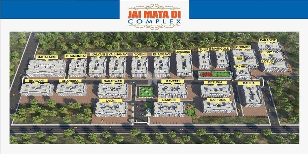 Jai Mata Di Complex - Project Images